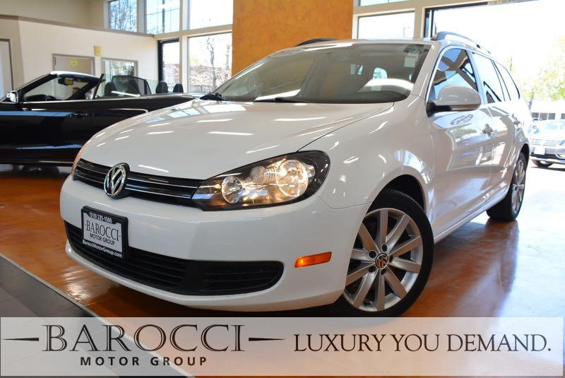 2012 Volkswagen Jetta SportWagen TDI 4dr Wagon 6A w Sunr 6 Speed Auto White We are proud to off