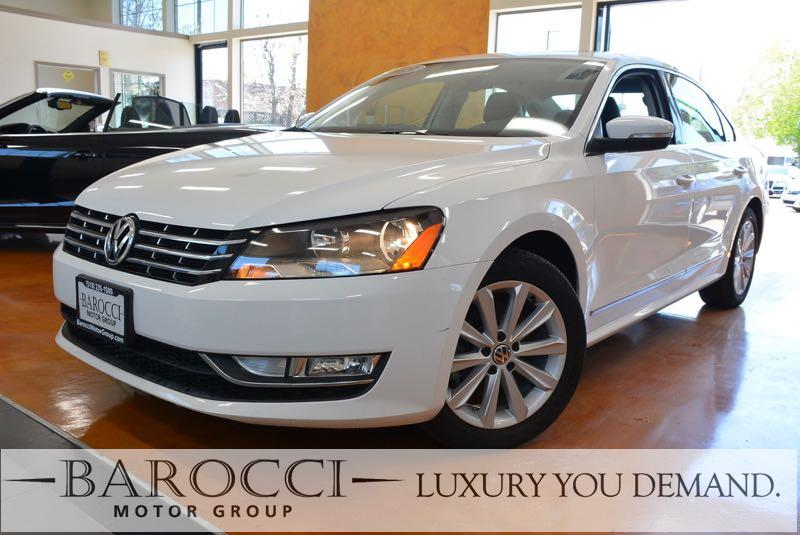 2013 Volkswagen Passat SEL PZEV 4dr Sedan 6A 6 Speed Auto White We are proud to offer a great on