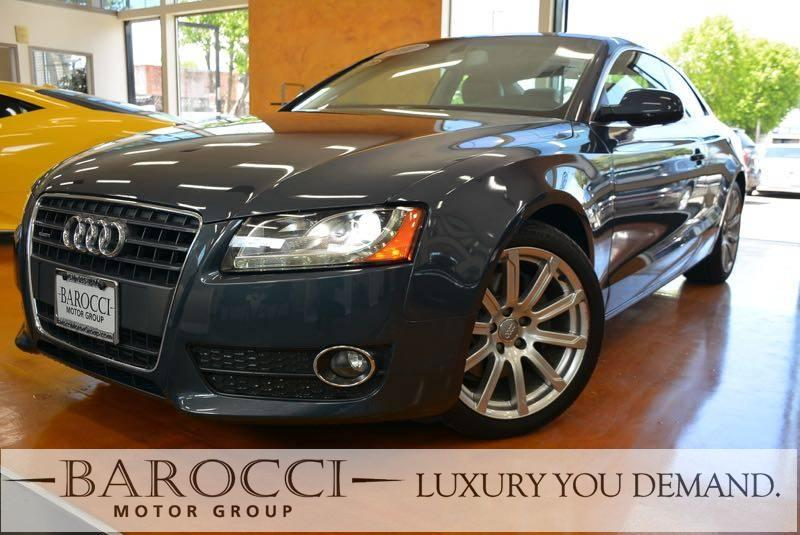 2011 Audi A5 20T quattro Premium AWD  2dr Coupe 8 Speed Auto Gray We are excited to offer a cle