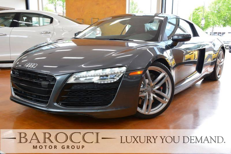 2014 Audi R8 42 quattro AWD  2dr Coupe 6M 6 Speed Man Gray Now offering a striking one owner 2