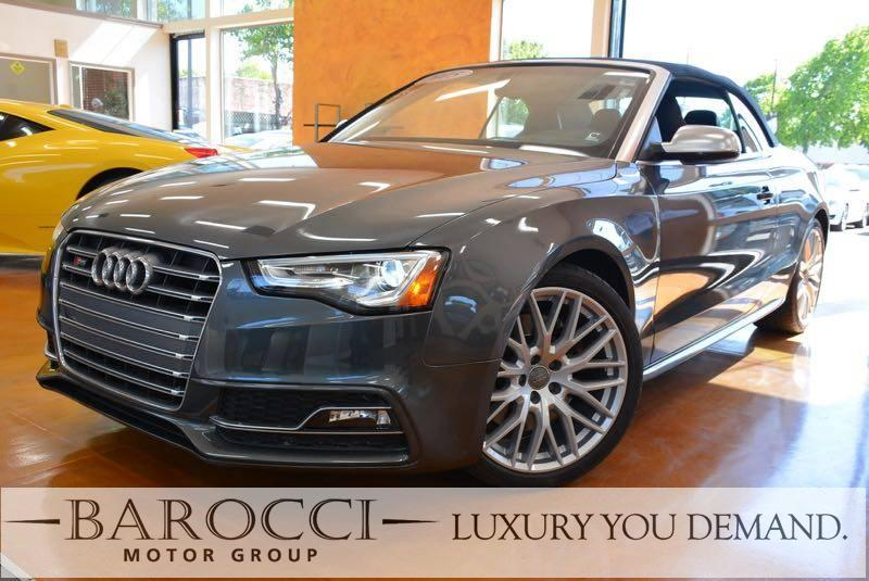 2015 Audi S5 30T quattro Premium PLUS AWD  2dr 7 Speed Auto Gray Now for sale is a great one ow