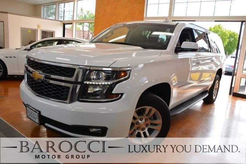 2015 Chevrolet Suburban LT 1500 4x4  4dr SUV 6 Speed Auto White You are looking at this frontlin