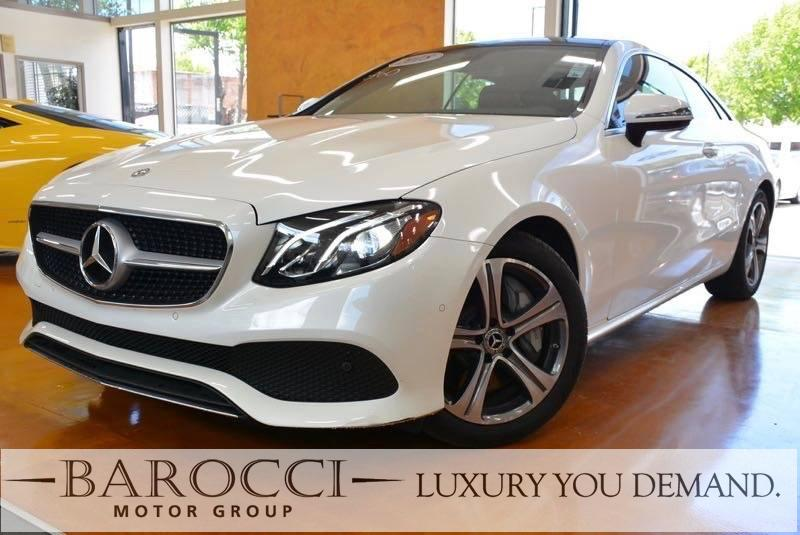 2018 MERCEDES E400 2DR Automatic White Now for sale is a very nice one owner 2018 Mercedes-Benz