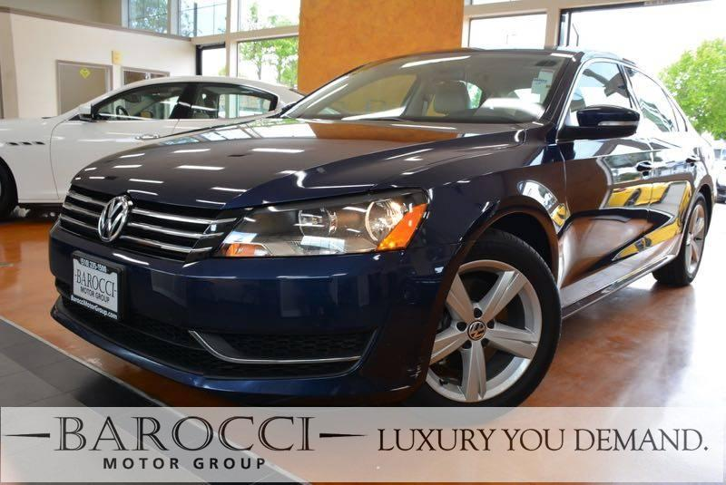 2013 Volkswagen Passat SE PZEV 4dr Sedan 6A 6 Speed Auto Dk Blue Now for sale is a very nice on