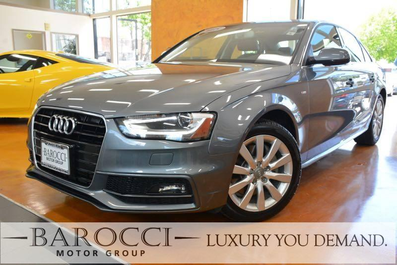 2015 Audi A4 20T Premium Plus 4dr Sedan Automatic CVT Gray Now offering an excellent one owner
