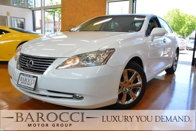 2008 Lexus ES 350 4dr Sedan 6 Speed Auto White Luxury You Demand Child Safety Door Locks Power