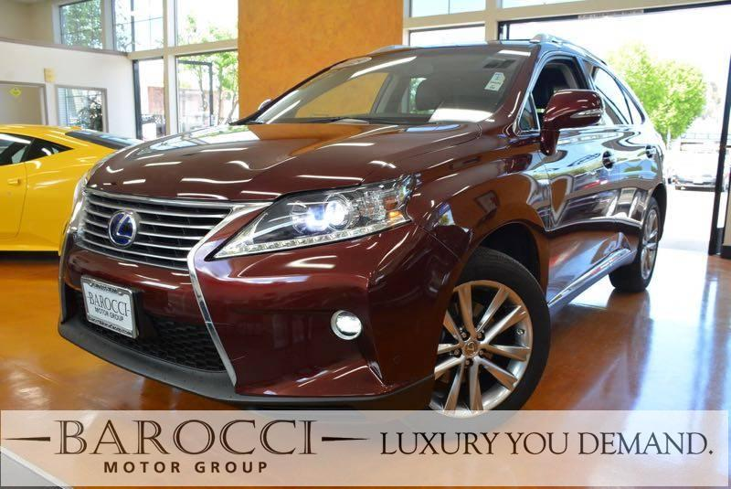 2015 Lexus RX 450h Base AWD 4dr SUV Automatic Red Up for sale is an exquisite one owner 2015 Lex
