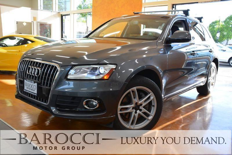 2015 Audi Q5 30 quattro TDI Prem PLUS AWD  4dr 8 Speed Auto Gray We are proud to offer a very n