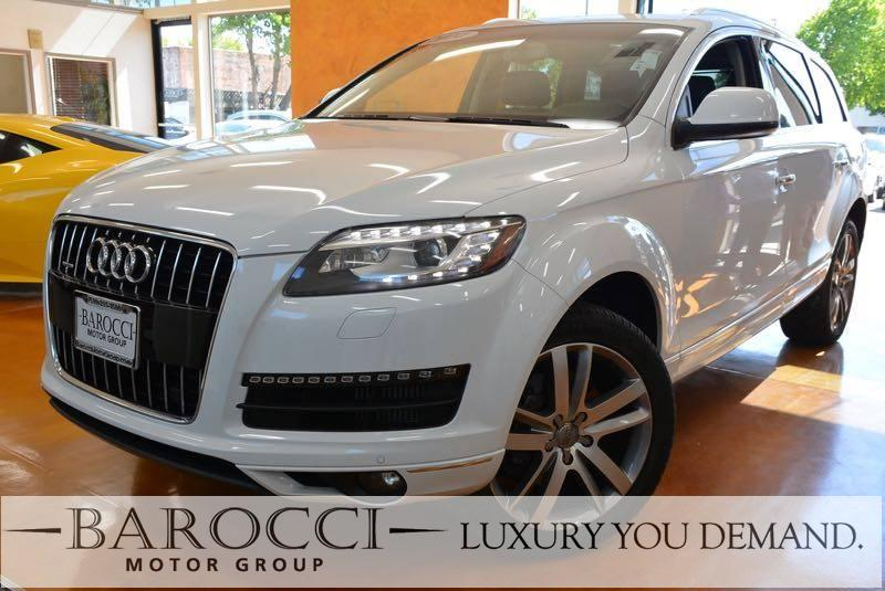 2014 Audi Q7 30 quattro TDI Prem PLUS  AWD  4dr 8 Speed Auto White Now offering this frontline