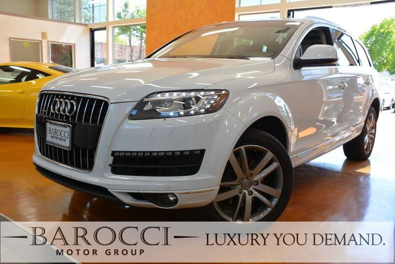 2015 Audi Q7 30 quattro TDI Prem PLUS AWD  4dr 8 Speed Auto White Now offering an immaculate on