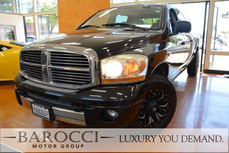 2006 Dodge Ram Pickup 1500 Laramie 4dr Mega Cab SB 5 Speed Auto Black Gray Luxury You Demand C