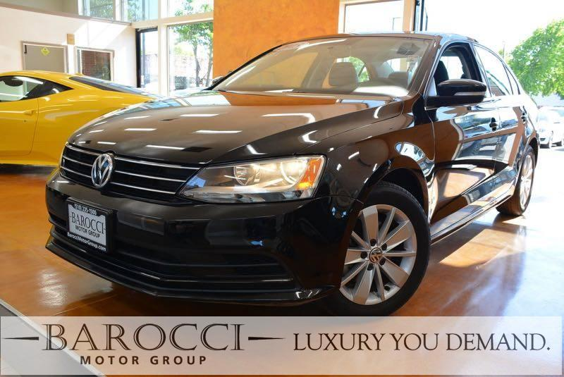 2015 Volkswagen Jetta SE PZEV 4dr Sedan 6A wConnectivi 6 Speed Auto Black This is a delightful