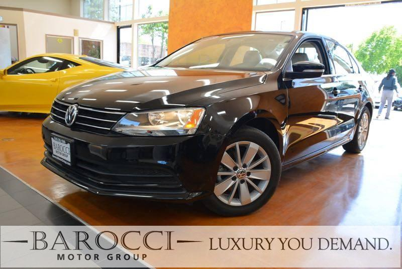 2015 Volkswagen Jetta SE PZEV 4dr Sedan 6A wConnectivi 6 Speed Auto Black Up for sale is a terr