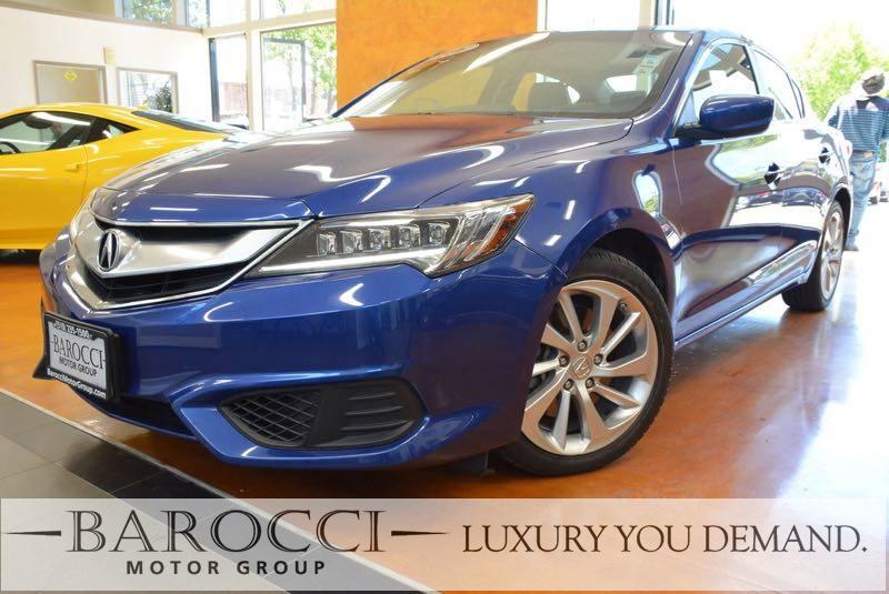 2016 Acura ILX wPremium 4dr Sedan  Package 8 Speed Auto Blue You are looking at a superb one ow