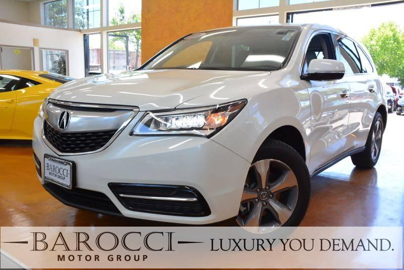 2016 Acura MDX SH-AWD 4dr SUV 9 Speed Auto White We are excited to offer this frontline ready on