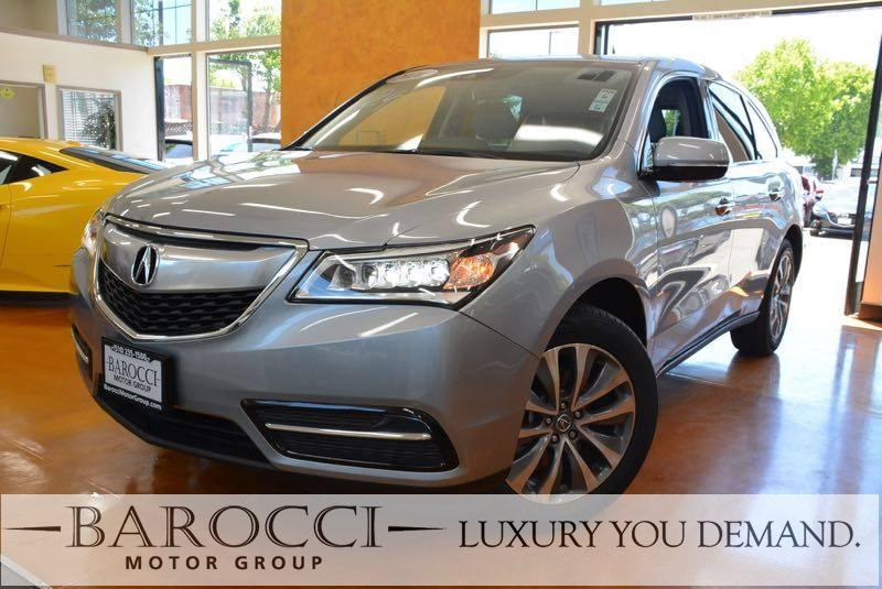 2016 Acura MDX wTech 4dr SUV nology Package 9 Speed Auto Silver This is an immaculate one owner