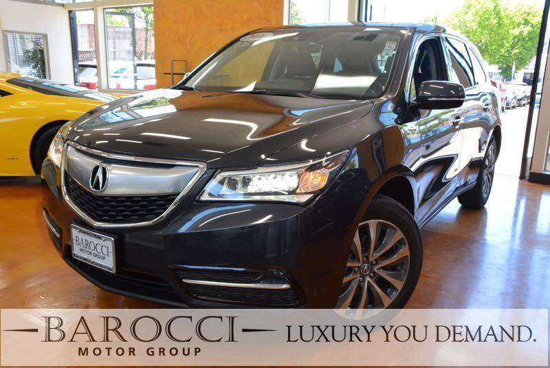 2016 Acura MDX wTech 4dr SUV  Package 9 Speed Auto Gray Up for sale is a superb one owner 2016