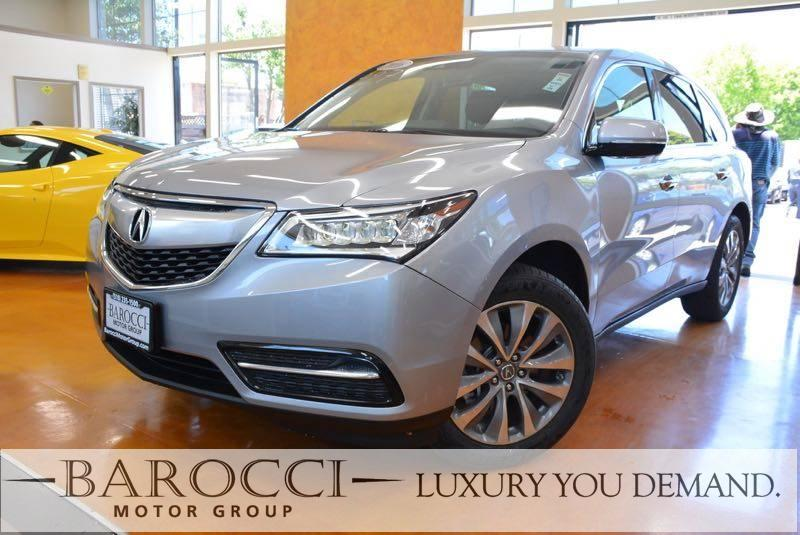 2016 Acura MDX wTech 4dr SUV nology Package 9 Speed Auto Silver You are looking at a sublime on