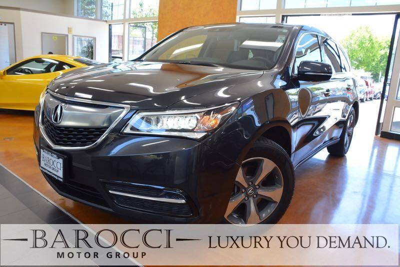 2016 Acura MDX Tech Pkg SH-AWD 4dr SUV 9 Speed Auto Gray Up for sale is this fantastic one owner