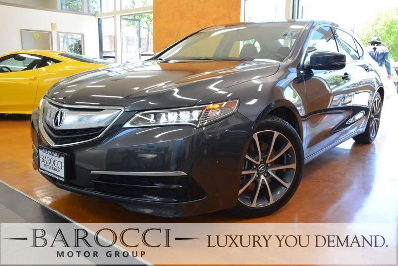 2015 Acura TLX V6 4dr Sedan 9 Speed Auto Gray Now for sale is a superb one owner 2015 Acura TLX