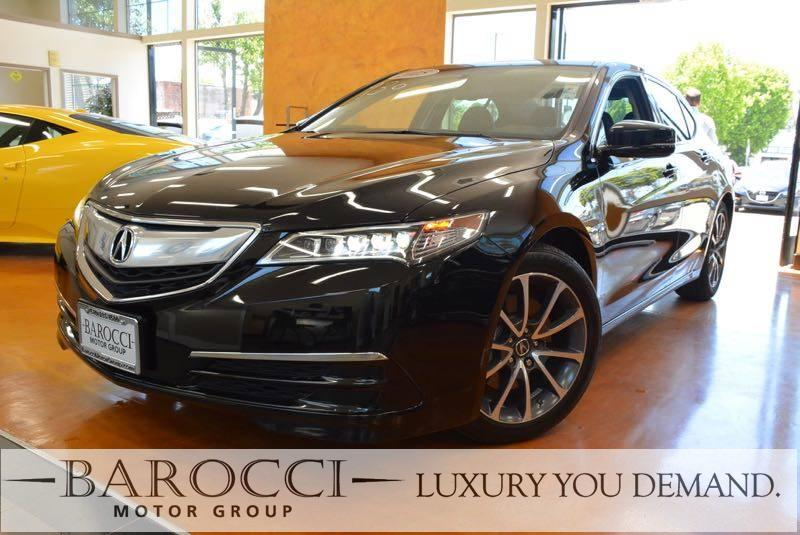 2015 Acura TLX V6 4dr Sedan 9 Speed Auto Black Up for sale is a terrific one owner 2015 Acura TL