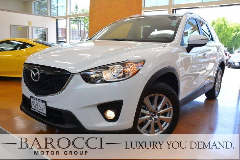 2015 Mazda CX-5 Touring 4dr SUV 6 Speed Auto White We are excited to offer an excellent one owne