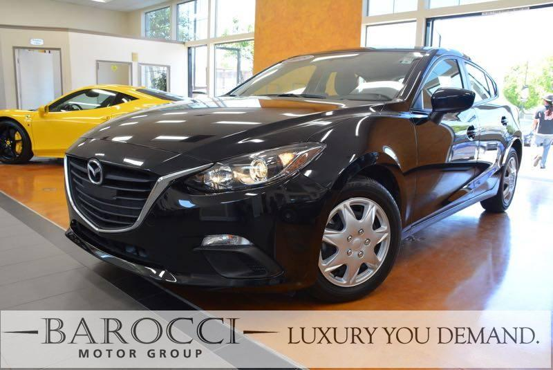 2015 Mazda Mazda3 i Sport 4dr Hatchback 6A 6 Speed Auto Black This is a fabulous one owner 2015