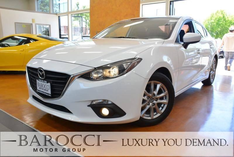 2015 Mazda Mazda3 i Touring 4dr Sedan 6A 6 Speed Auto White Up for sale is a sublime one owner 2