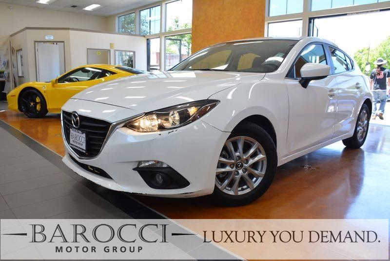 2015 Mazda Mazda3 i Grand Touring 4dr Hatchback 6A 6 Speed Auto White We are proud to offer a cl