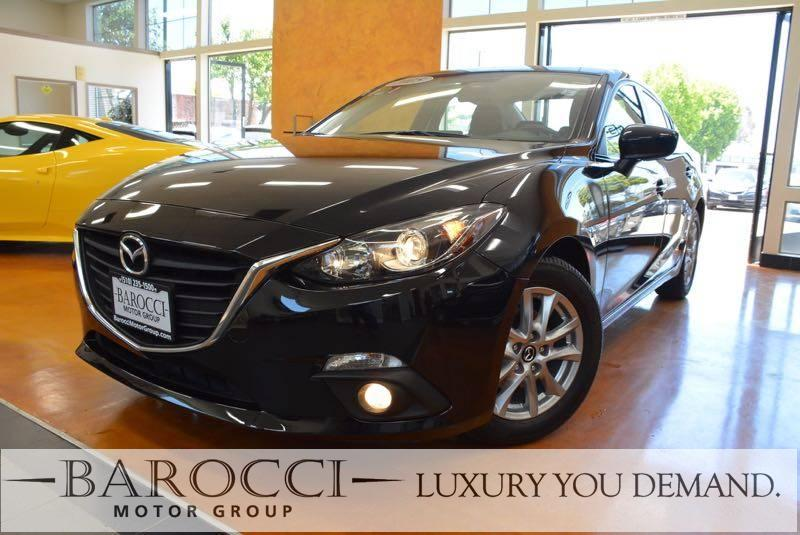 2015 Mazda Mazda3 i Touring 4dr Sedan 6A 6 Speed Auto Black Up for sale is this fantastic one ow