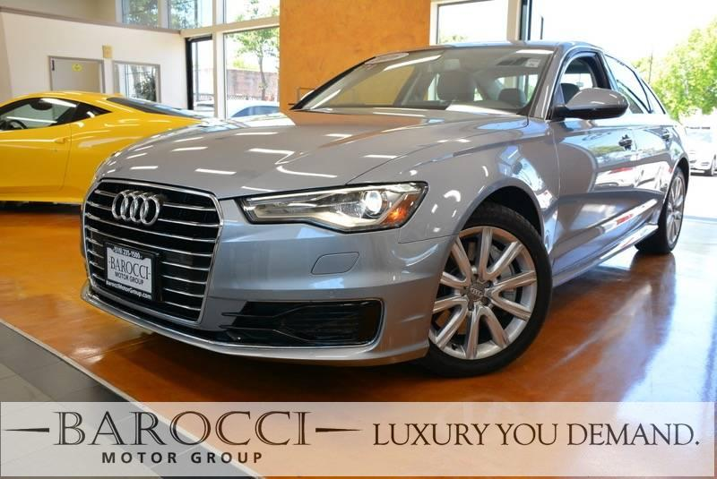 2016 Audi A6 20T Premium Plus 4dr Sedan 7 Speed Auto Gray We are proud to offer a striking one