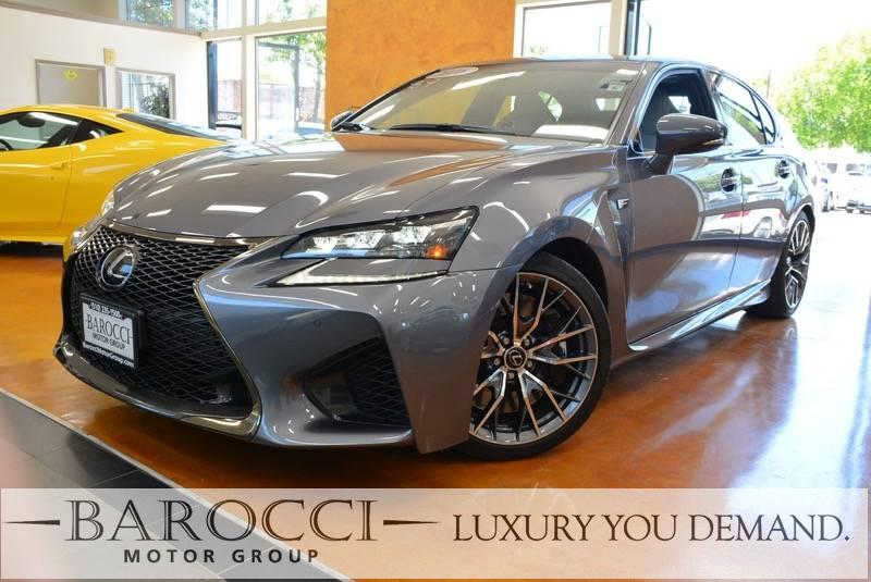 2016 Lexus GS F Base 4dr Sedan 8 Speed Auto Gray We are pleased to offer an outstanding one owne
