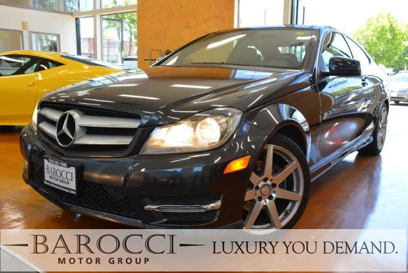 2013 MERCEDES C-Class C 250 2dr Coupe 7 Speed Auto Gray Luxury You Demand Power Door Locks Veh