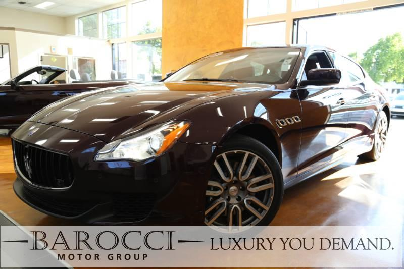 2015 Maserati Quattroporte S Q4 AWD  4dr Sedan 8 Speed Auto Maroon Brown Now for sale is this f
