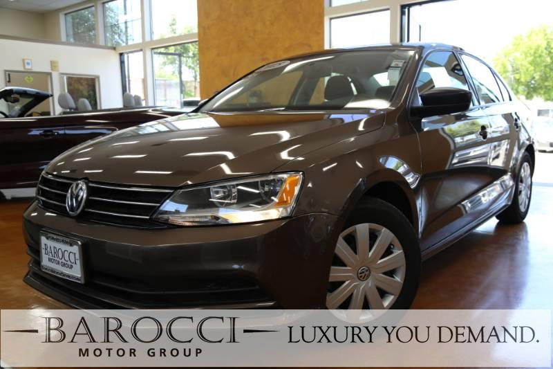 2015 Volkswagen Jetta S 4dr Sedan 6A wTechnology 6 Speed Auto BROWN Up for sale is an immaculat