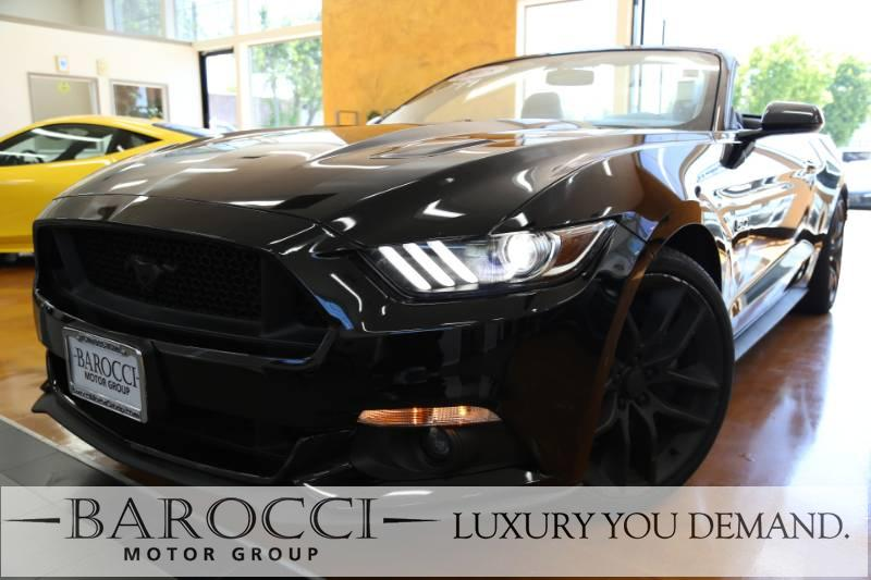 2015 Ford Mustang GT Premium 2dr Convertible 6-Speed Automatic  Black Luxury You Demand Power D