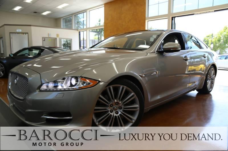 2011 Jaguar XJ Base 4dr Sedan 6 Speed Auto Champagne Luxury You Demand ABS