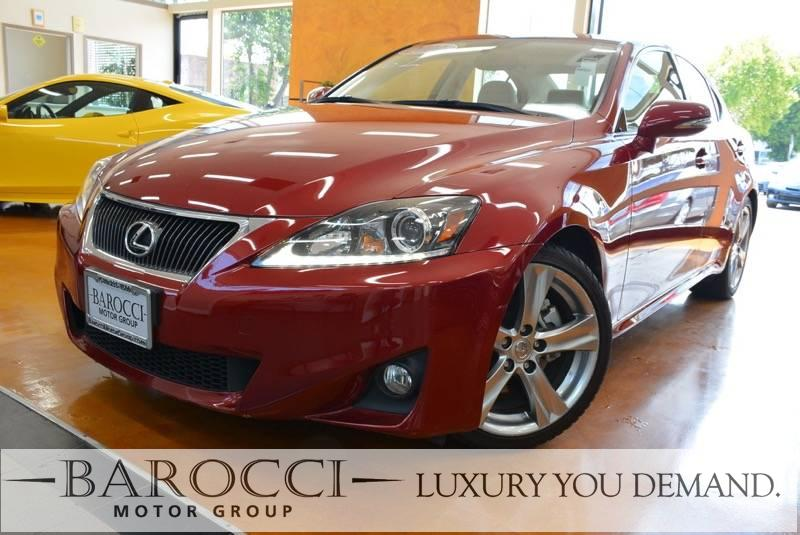 2011 Lexus IS 250 4dr Sedan 6A 6 Speed Auto Red You are looking at a delightful one owner 2011 L