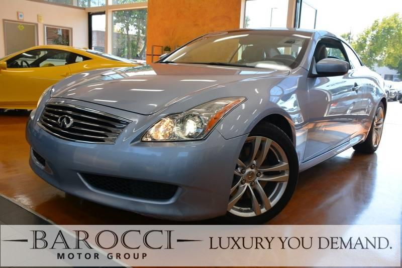 2009 INFINITI G37 Convertible 2dr Convertible 7 Speed Auto Blue Off White You are looking at an