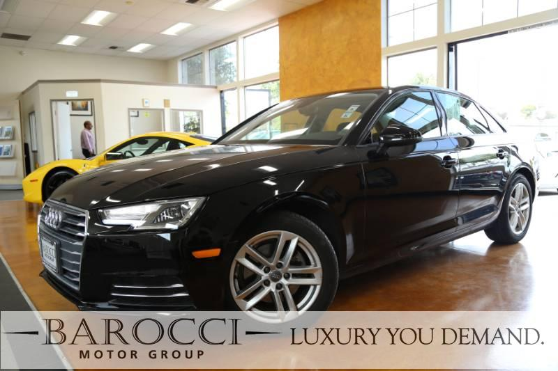 2017 Audi A4 20T ultra Premium 4dr Sedan 7 Speed Auto Black We are excited to offer an outstand