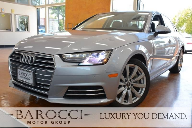 2017 Audi A4 20T quattro Premium  AWD 7 Speed Auto Silver This is a terrific one owner 2017 Aud