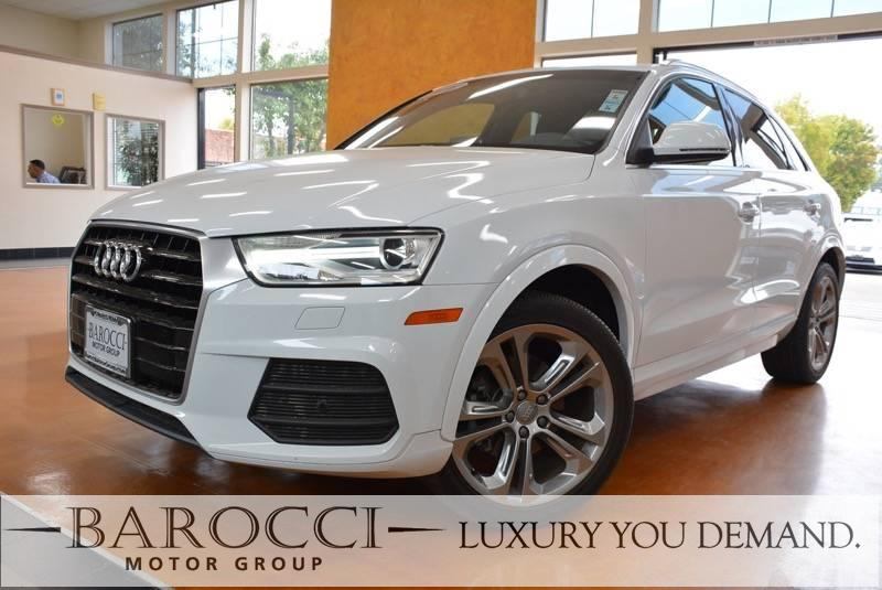 2016 Audi Q3 20T Premium Plus 4dr SUV 6 Speed Auto White We are excited to offer a clean one ow