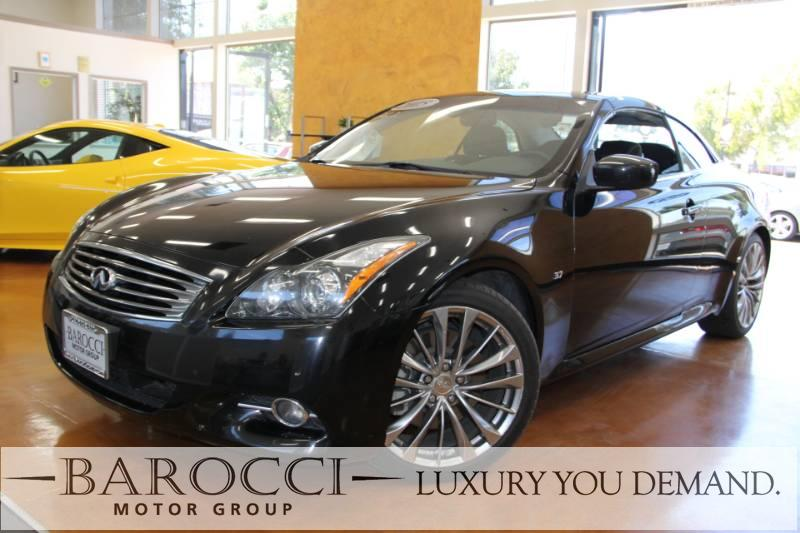 2015 INFINITI Q60 Convertible 2dr Convertible 7 Speed Auto Black You are looking at an immaculat