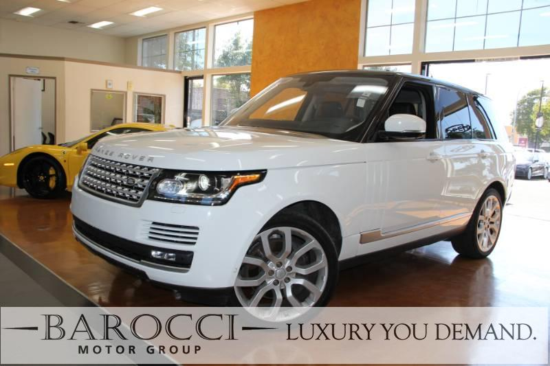 2016 Land Rover Range Rover Supercharged AWD  4dr SUV 8 Speed Auto White Now for sale is an imma