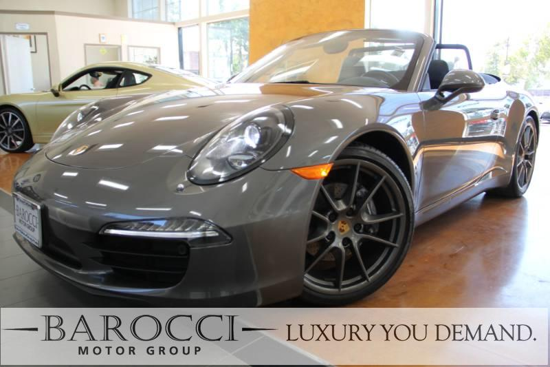 2016 Porsche 911 Carrera 2dr Convertible Automatic Gray Black We are pleased to offer a terrifi