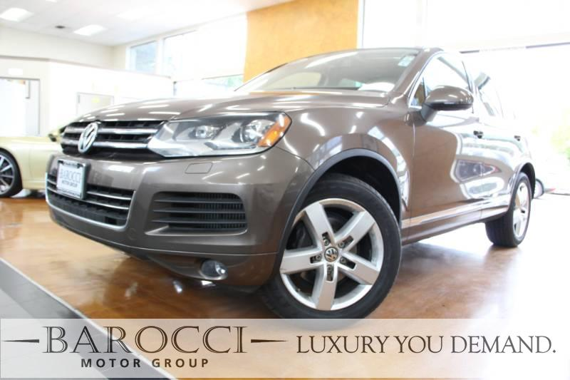 2014 Volkswagen Touareg TDI Lux AWD  4dr SUV 8 Speed Auto BROWN Now offering this frontline read