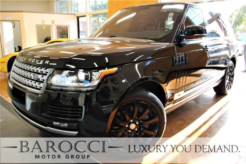 2015 Land Rover Range Rover Supercharged LWB 4x4  4dr SUV 8 Speed Auto Black Black Now for sale