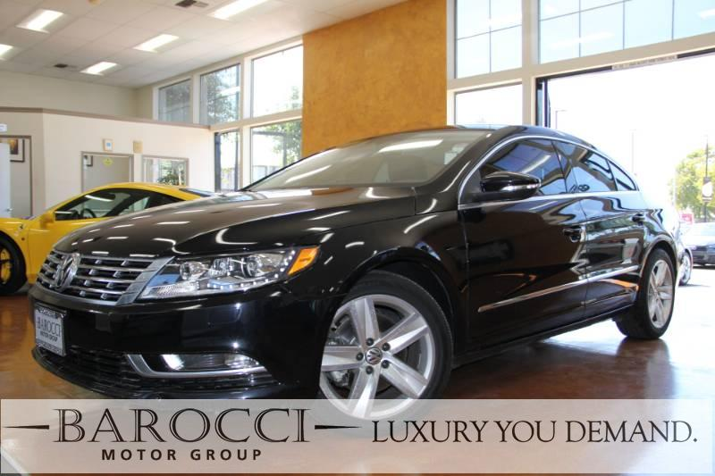 2015 Volkswagen CC Sport PZEV 4dr Sedan 6A 6 Speed Auto Black Up for sale is a striking one owne