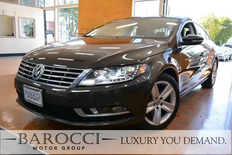 2015 Volkswagen CC SPORT PZEV 4dr Sedan 6A 6 Speed Auto Gray Now for sale is a great one owner 2