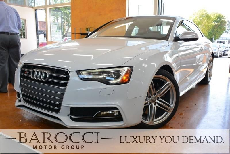 2013 Audi S5 30T quattro Prestig AWD  2dr Coupe 7 Speed Auto White Black Up for sale is this f